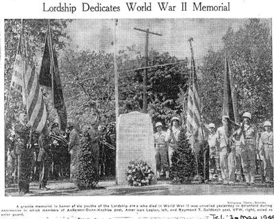 1949 Memorial Green Dedication